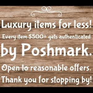 Your one stop shop for luxury items!